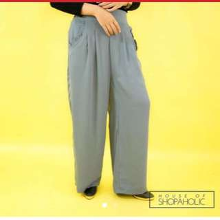 Pants loose gray fit to L