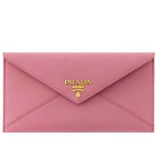 Prada envelop wallet