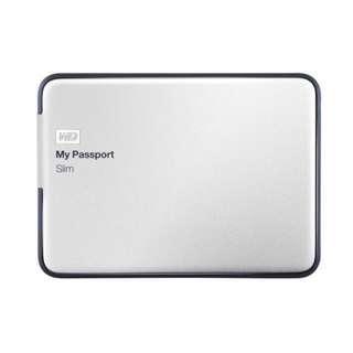 WD My Passport Slim 1TB Portable Metal External Hard Drive