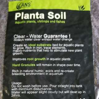 500g pack , Plants soil aquatic plants shrimps and fishes