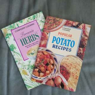 Set of 2 Cook Books