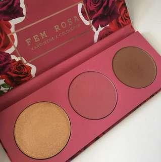 Colorpop fem Rosa palette