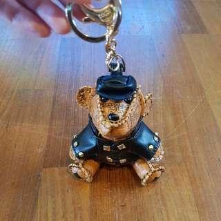 Mcm hip bear keychain
