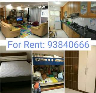 For Rent - 3+1 @Anchorvale  (Sengkang)
