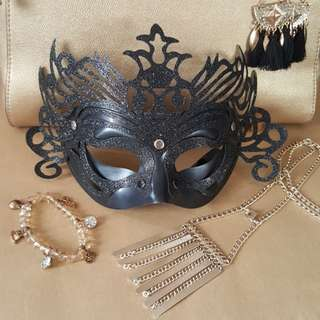 Masquerade Mask(black)