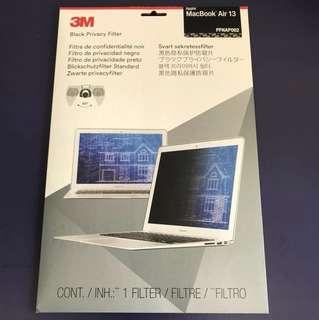 3M -Black Privacy Filter MacBook Air 13'
