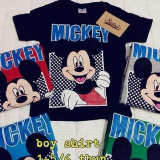 T Shirt mickey & elmo