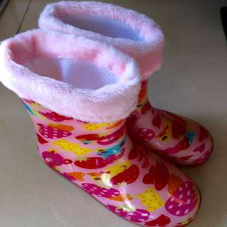 Rain boots for girl