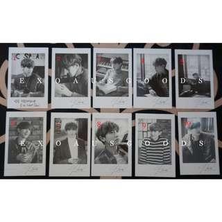 EXO x LINE EXO Next Door Chanyeol Polaroid Card