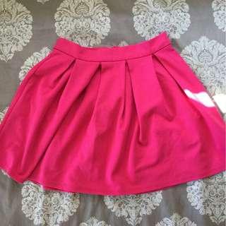 F21 Pink Mini Skirt