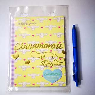🆕 Gift Gate Sanrio Cinnamoroll Diary Notebook With Plastic Case