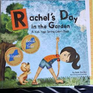 Rachel's Day in the Garden (kids yoga book)