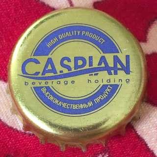 Caspian Beer Cap from Kazakhstan