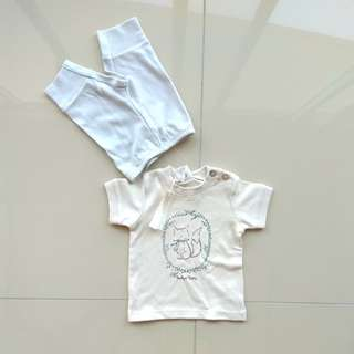 TRUDY & TEDDY MATCHING TOP PANTS SET FOR BOYS
