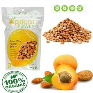 Apricot seed half pound