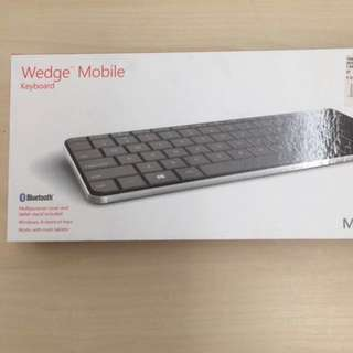 BNIB Microsoft Wedge Mobile Bluetooth Keyboard