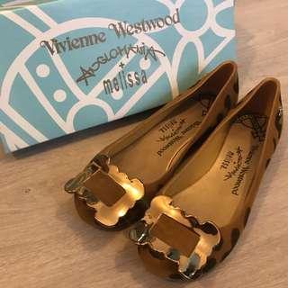 Vivienne Westwood 豹紋鞋 (37號) 全新!