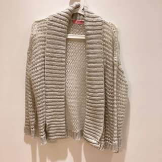 開襟針織外套 #冬季衣櫃出清