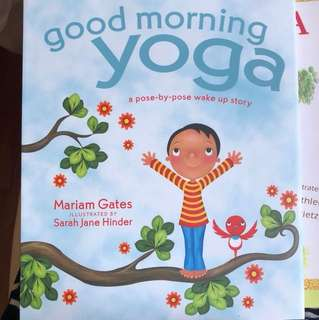 Good Morning Yoga (kids yoga book)