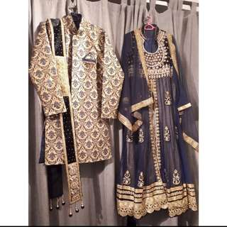 Couple Wedding Outfit / Baju Pengantin for Rent