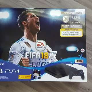 Brand new PS4 fifa edition