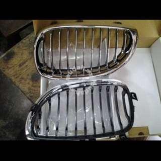 Bmw E60 original chrome kidney grill