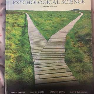 Introduction to Psychology Canadian Edition