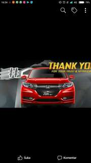 HRV E CVT SPECIAL RED EDITION