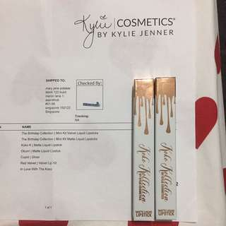 Kylie Matte Liquid Lipstick Okurr