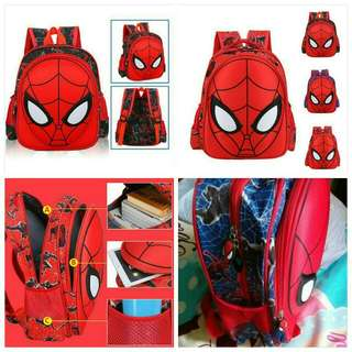 School spiderman bag 👾