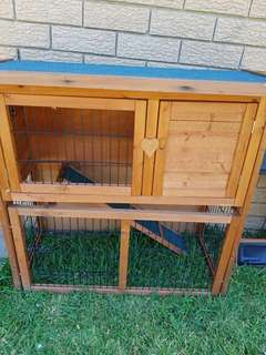 Guinea pig or Rabbit hutch almost new