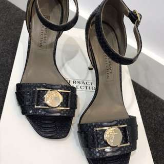 Authentic Versace high heel shoes