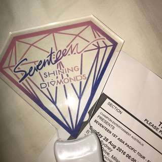 SEVENTEEN SHINING DIAMONDS SYDNEY OFFICIAL LIGHTSTICK