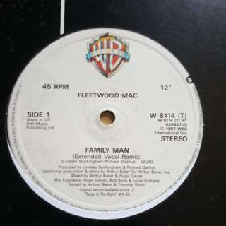 Family Man - Fleet WoodMac (12 single vinyl record)