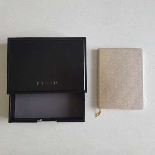 Paragon Gold Diary - Blank Pages with Sketches