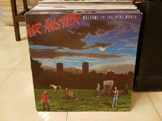 Mr Mister Welcome To The Real World Vinyl LP Original Pressing Rare