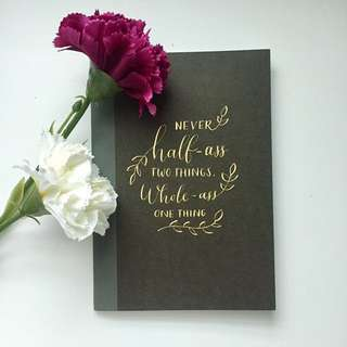 Custom Notebook [SOLD OUT]