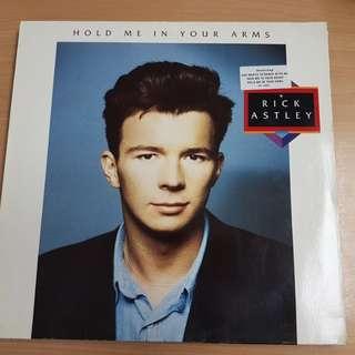 Rick Astley Hold Me In Your Arms Vinyl LP Original Pressing Rare