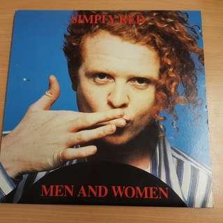 Simply Red Men and Women Vinyl LP Original Pressing Rare