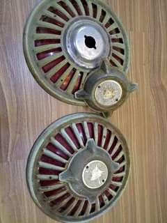 """Vespa Wheel hub cap original 8"""" vintage"""