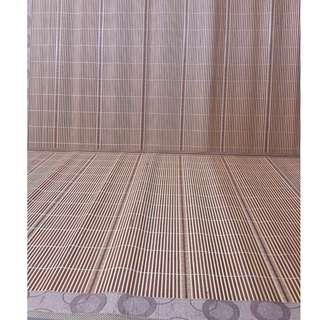 Bamboo Thin Bed Mat Mattress (with Free USB Light)