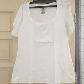 Dressbarn White Top