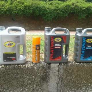 Penzoil engine oil,  atf oil