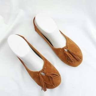 Flat Shoes Coklat