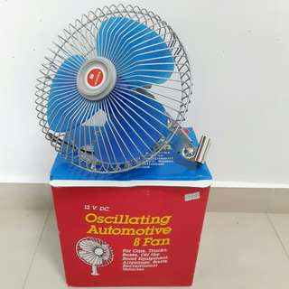 "Oscillating Automotive 8"" Fan"