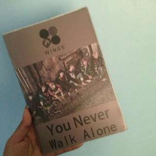 BTS YNWA NOTEBOOK