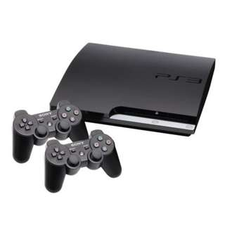 PS3 + Controllers + 10+ Games