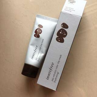 Innisfree clay mask : hydrating