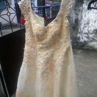 Wedding gown L - XL