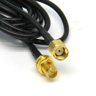 WiFi WAN Router Wi-Fi RP-SMA Antenna Extension Cable Cord 3 metres 10' Ft. Foot (Contact me for 6 or 9m cables)